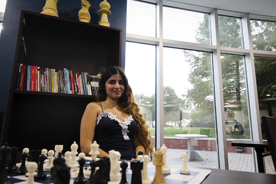 Dorsa Derakhshani, named International Grandmaster by the World Chess Federation in 2016, is now playing for the Billikens. Derakhshani is a freshman at SLU and a member of the chess team.