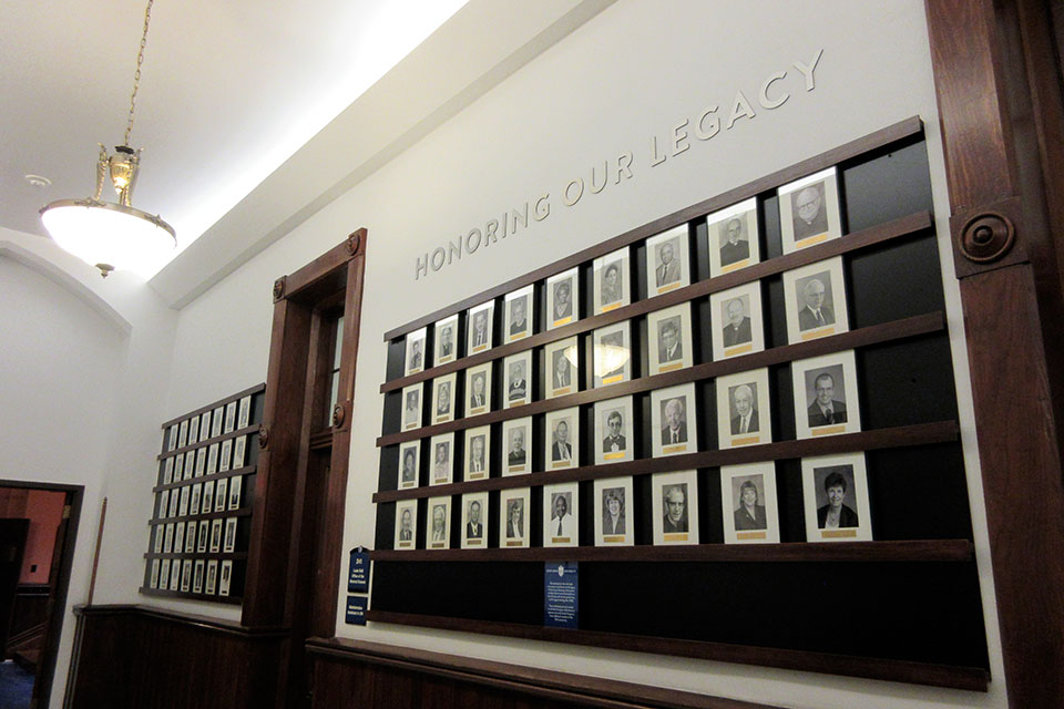 Legacy wall