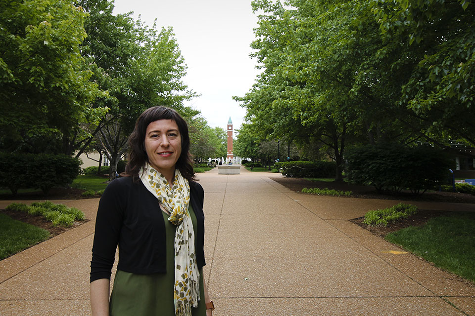 "Emily Lutenski, Ph.D., an associate professor in American Studies, was named a National Humanities Center fellow for the academic year 2019-20.   She will be working on her book, ""Modern Lovers: Margery Latimer, Jean Toomer, and Race in American Culture."""