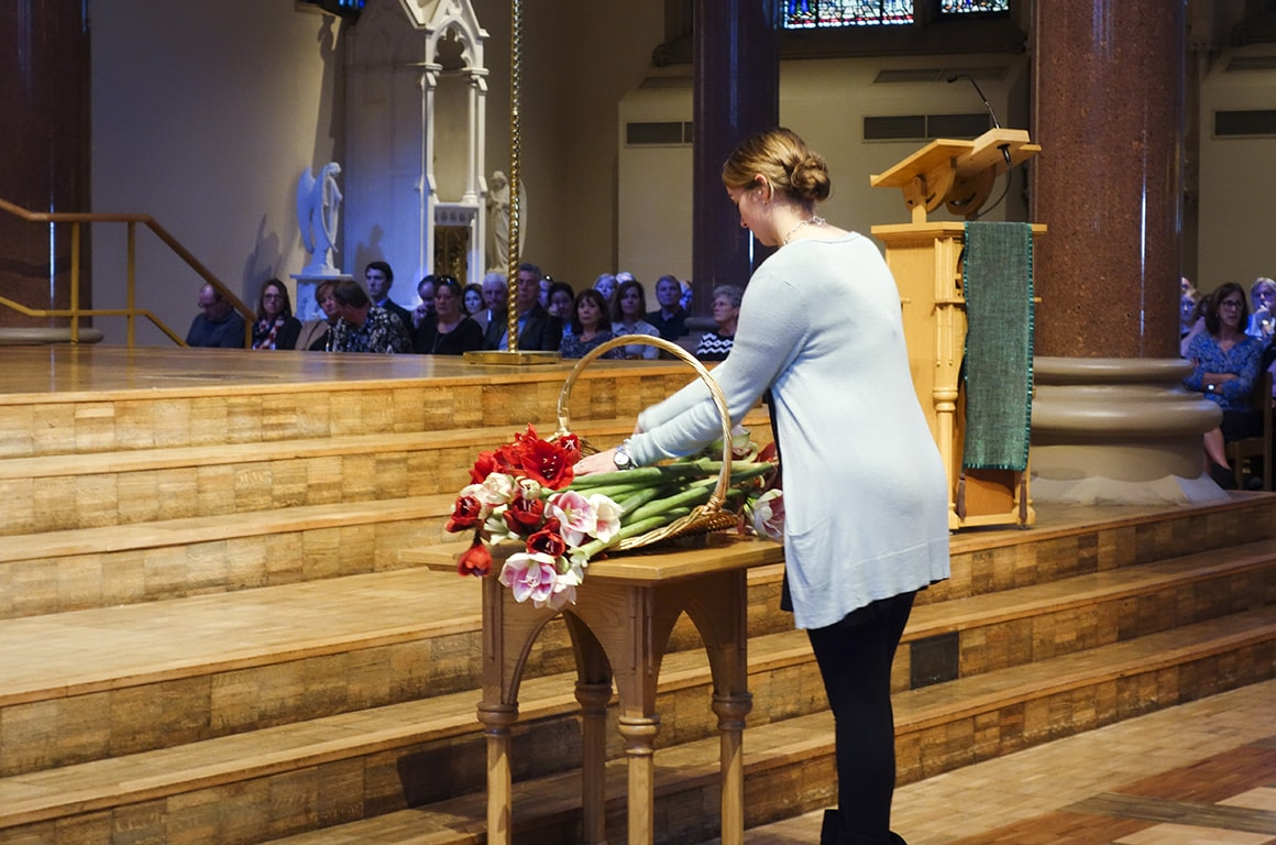 Each year, medical students honor those who donated their bodies for medical education with an interfaith memorial service.