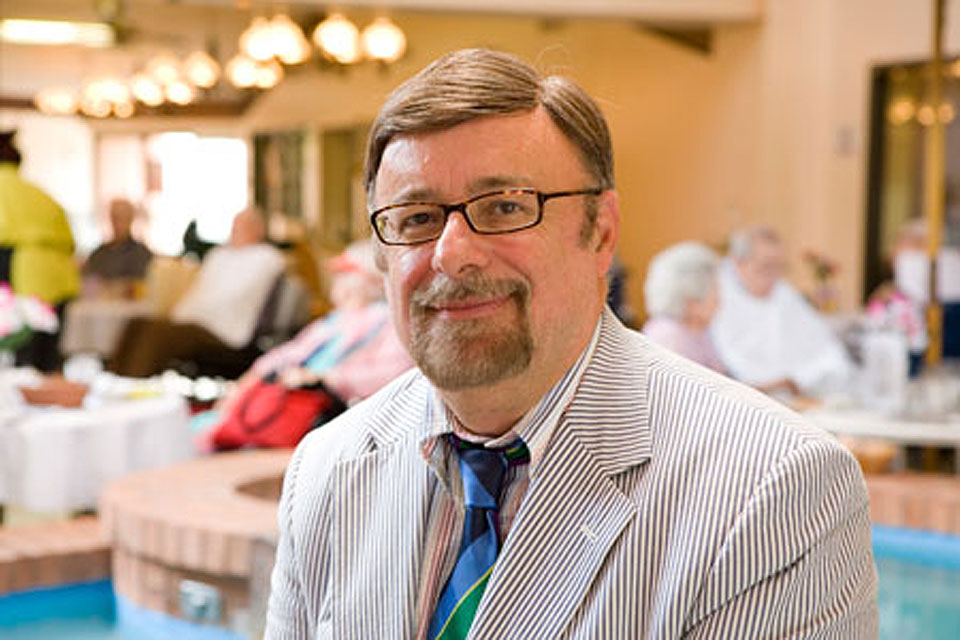 George Grossberg, M.D., director of geriatric psychiatry at Saint Louis University and a SLUCare physician