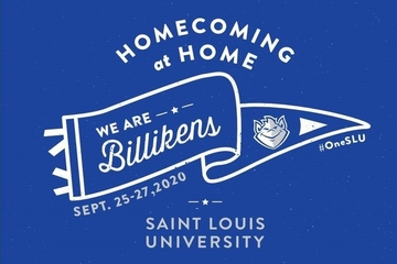 2020 Homecoming and Family Weekend logo