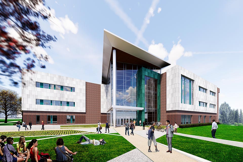 Members of the Saint Louis University community are invited to a groundbreaking ceremony for the new Interdisciplinary Science and Engineering (ISE) Building.