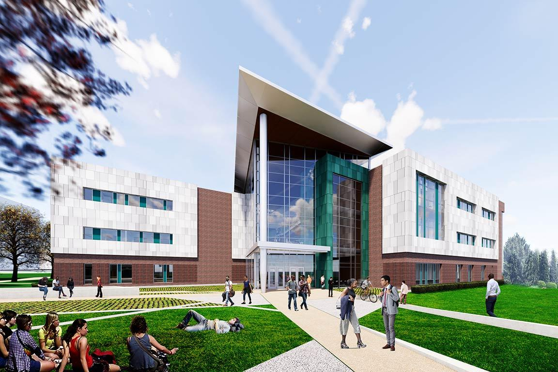 Saint Louis University plans to construct a new Interdisciplinary Science and Engineering (ISE) Building on campus ­– a $50 million project that also includes renovation of some existing lab spaces.
