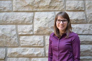 Katie Kelting, Ph.D., assistant professor of marketing, is the 2019 winner of the Nancy McNeir Ring Award.