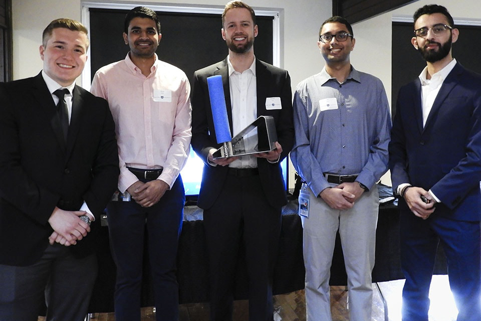Saint Louis University students showcased solutions to a wide range of medical problems at the third annual MEDLaunch Demo Day.