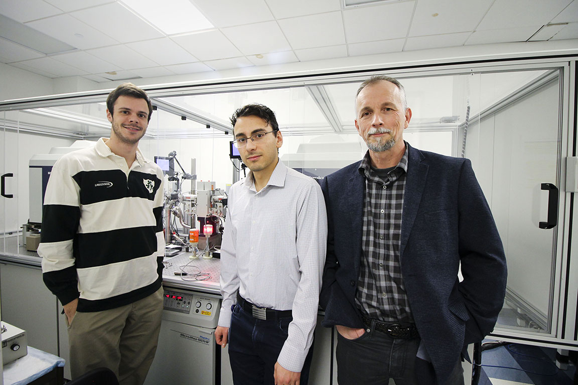 Sergey Korolev, Ph.D. and his research team