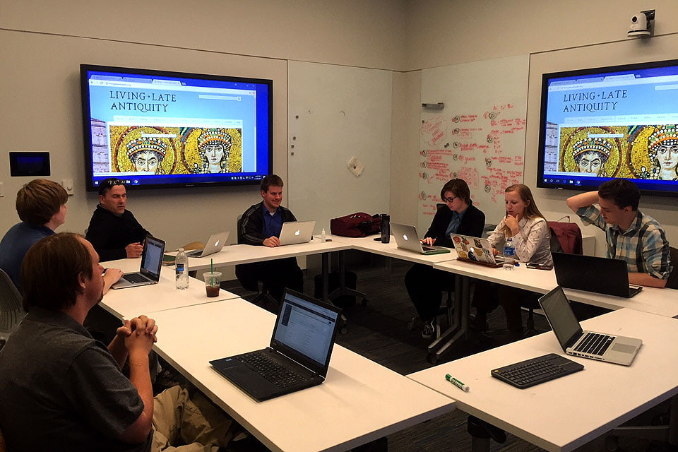 Graduate students working on 'Living Late Antiquity'