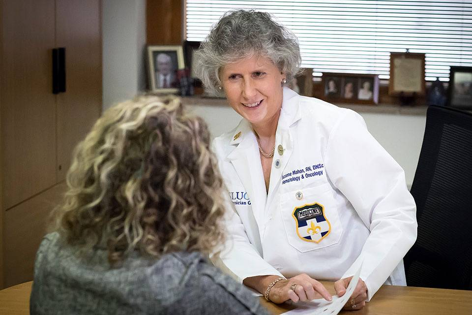 A professor in hematology and oncology from Saint Louis University School of Medicine has received the highest professional recognition in nursing. Suzanne Mahon, DNSc, was inducted as a fellow of the American Academy of Nursing at its annual policy conference on Oct. 31.