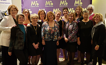 A professor in the Trudy Busch Valentine School of Nursing who has spent decades studying how to talk about end-of-life issues with the families of dying children was honored for her work Saturday, Nov. 9, at the 2019 March of Dimes Missouri Chapter Nurse of the Year Awards gala.