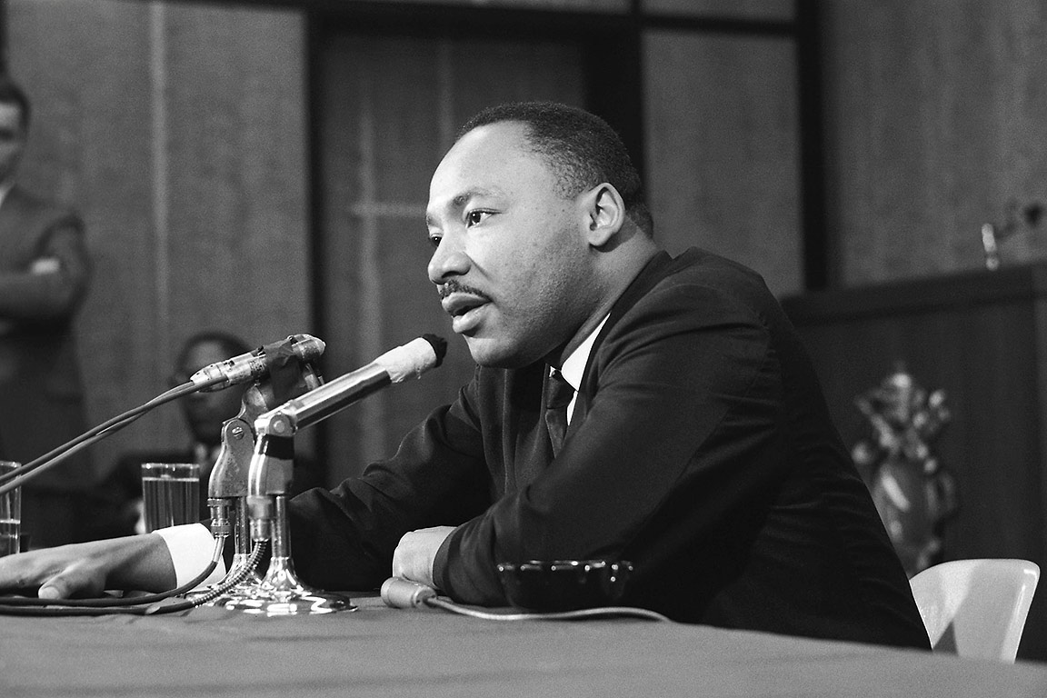 MLK speaks at SLU
