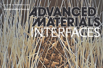 Advanced Materials Interfaces section cover
