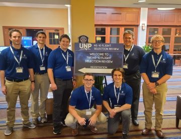 Saint Louis University, along with nine others from across the country, was invited to participate in the elite University Nanosatellite Program (UNP) in Albuquerque, New Mexico.