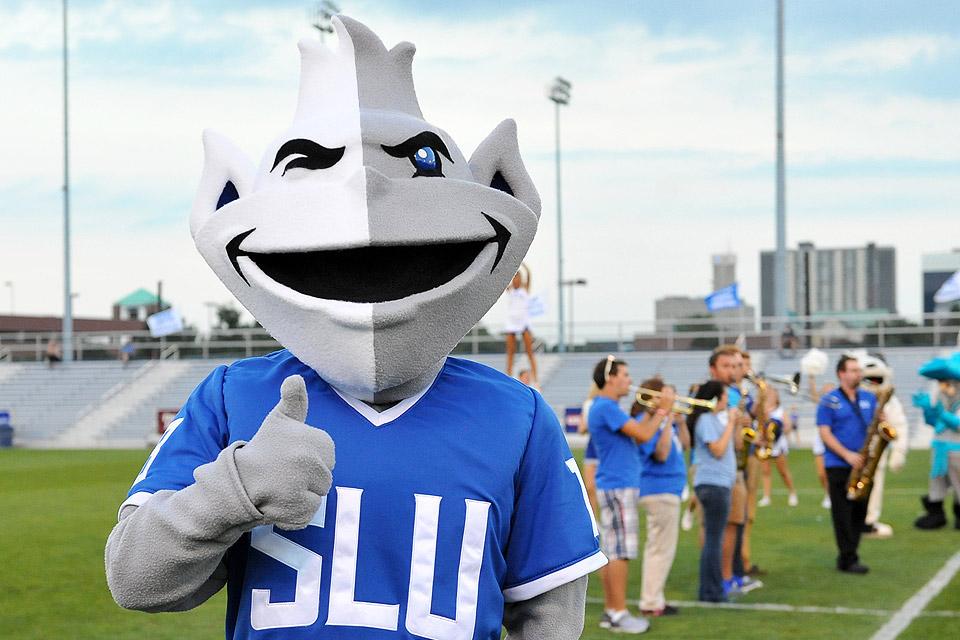 New Billiken Mascot