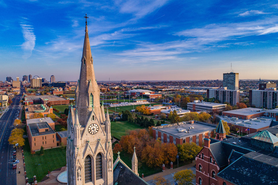 Saint Louis University has been named the nation's No. 7 Catholic university – up from No. 8 last year by Niche, a website that ranks colleges, schools, neighborhoods and companies.  SLU also is ranked as the top college for nursing in Missouri and the 9th best in the country. The rankings were released in August.