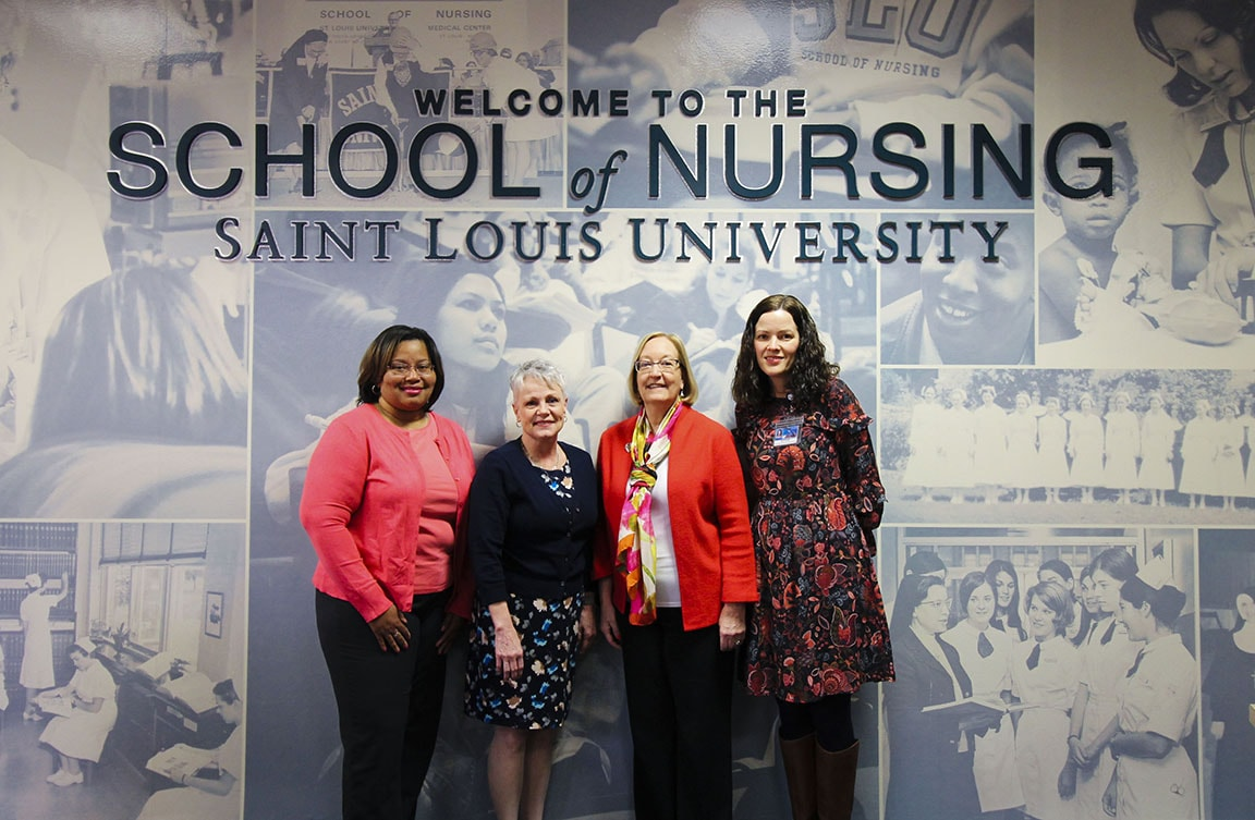 SLU nursing faculty