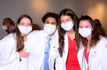 Saint Louis University Trudy Busch Valentine School of Nursing held its White Coat Ceremony for the Class of 2023. Though not new in the health professions, the ceremony is relatively new to nursing and is viewed as a rite of passage.