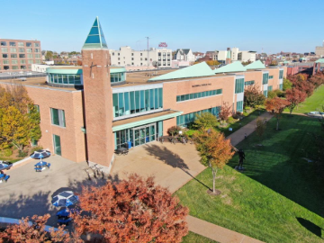 Saint Louis University remains committed to ongoing sustainability efforts, converts McDonnell Douglas Hall to LED.
