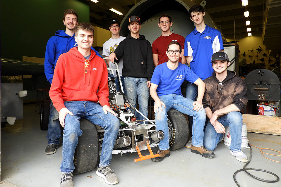 The Parks Racing FSAE Club.