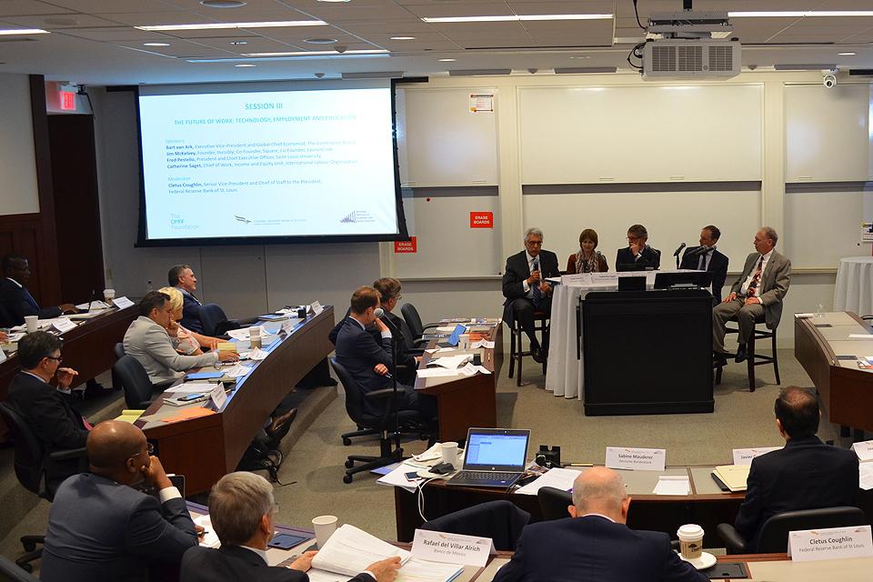 Federal Reserve Bank and OMFIF Symposium : SLU