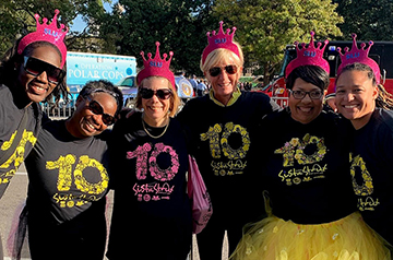 2019 Sista Strut Fairy God Walkers team