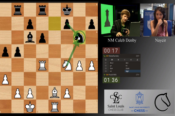 Screenshot of the 2020 College Blitz and Rapid Chess Championships.