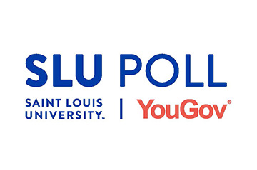 The October SLU/YouGov Poll interviewed 931 likely Missouri voters about the 2020 election and issues important to Missourians. The survey found that Republican candidates Donald Trump, Governor Mike Parson, and Attorney General Eric Schmitt all hold at least a 6-point lead on their Democratic rivals.