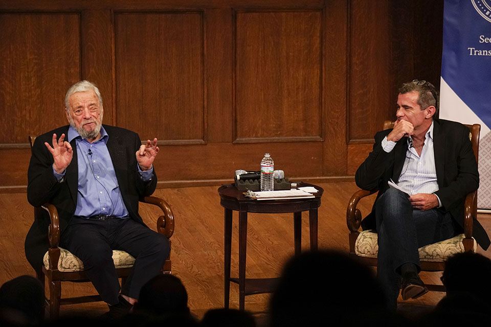 Sondheim and Isaacson