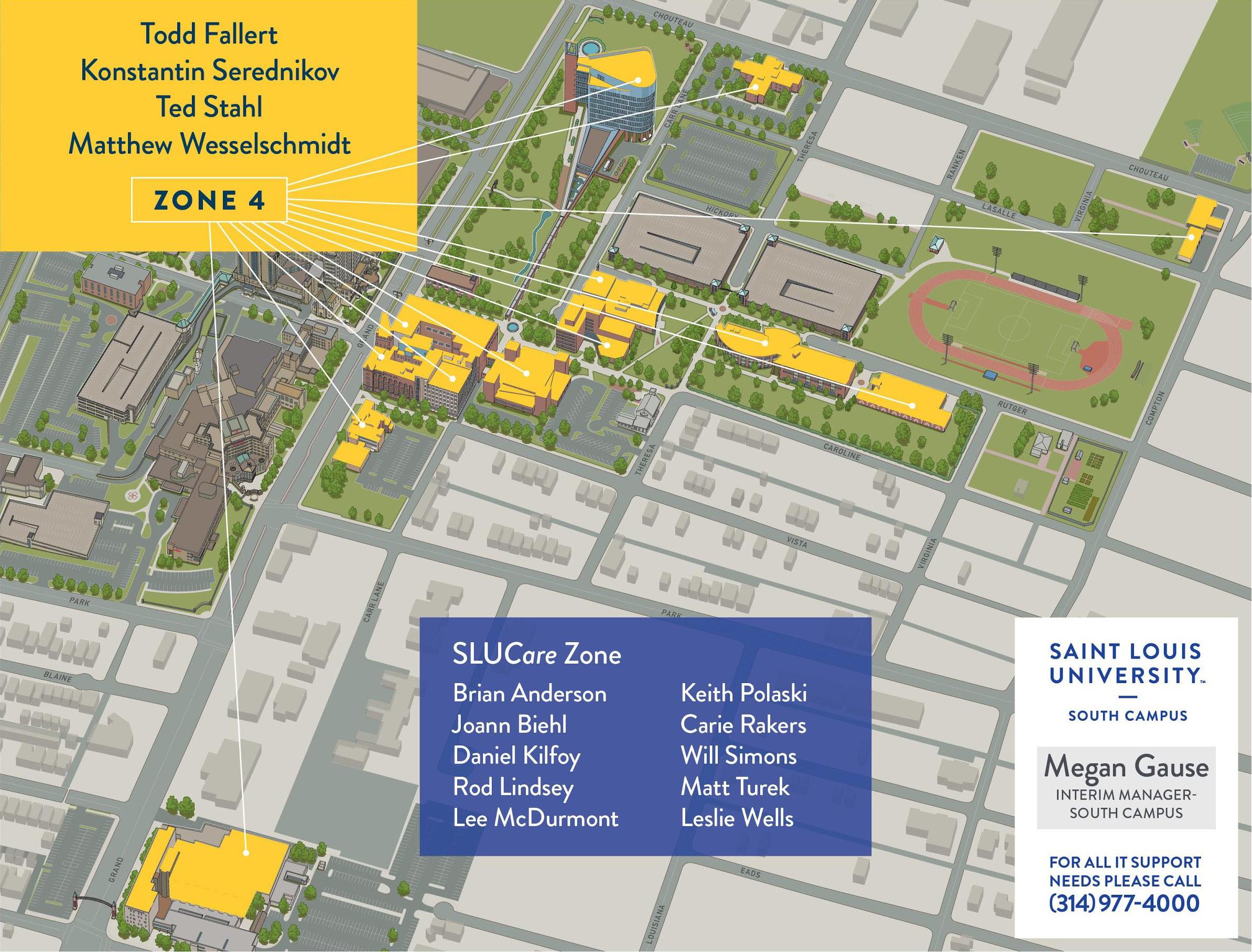 slu campus map Slu Medical Campus Map Map Of The World slu campus map