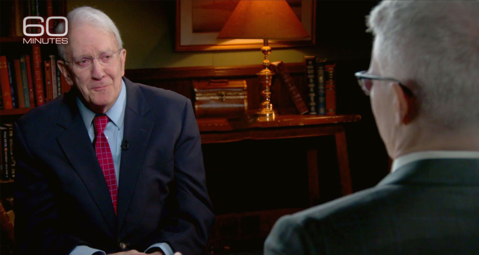 Steve Hanlon on 60 Minutes with Anderson Cooper