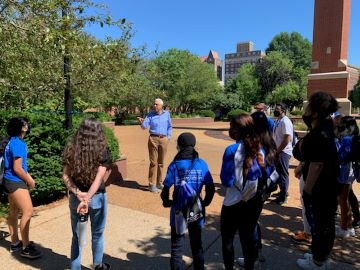 Saint Louis University's School of Medicine Summer Scholars Program is designed to expose minority students in grades 9-12 to careers in medicine and health care. A rising senior at Rosati-Kain High School shares her experience in the program.