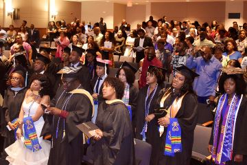 Incoming freshman looking for mentorship, connection through shared experience, and a celebration of Black diasporic identities, will find support and comradery through Saint Louis University's THRIVE: Black and Talented Learning Community.