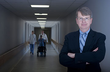 Richard Bucholz, M.D., professor in the division of neurosurgery at Saint Louis University, will receive the St. Louis Metropolitan Medical Society's 2019 Award of Merit on Saturday, Jan 25.