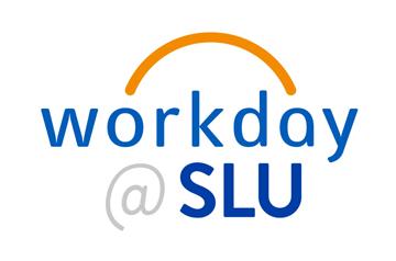 Workday@SLU logo