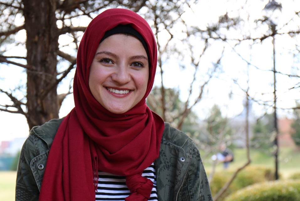 Amaly Yossef, a Master of Social Work student at Saint Louis University