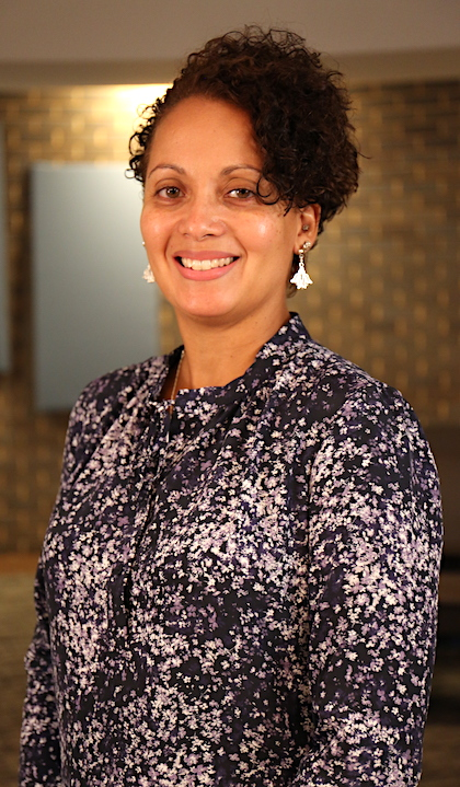 Rhonda BeLue, chair and professor, at the College for Public Health and Social Justice.