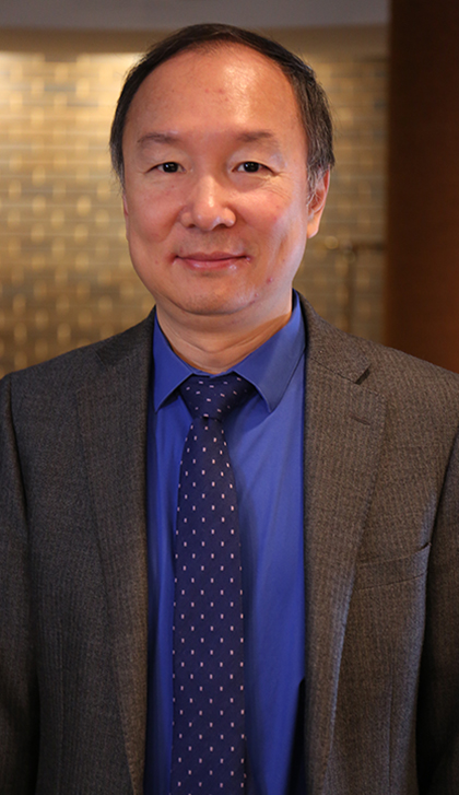 John Fu, professor of biostatistics, at Saint Louis University's College for Public Health and Social Justice
