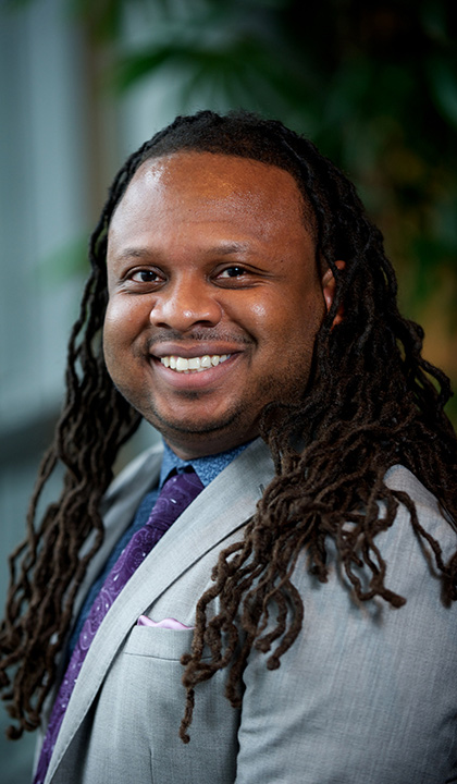 Keon Gilbert of Saint Louis University's College for Public Health and Social Justice