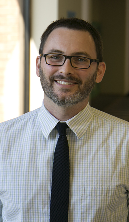 Jesse Helton, professor of social work at Saint Louis University's School of Social Work