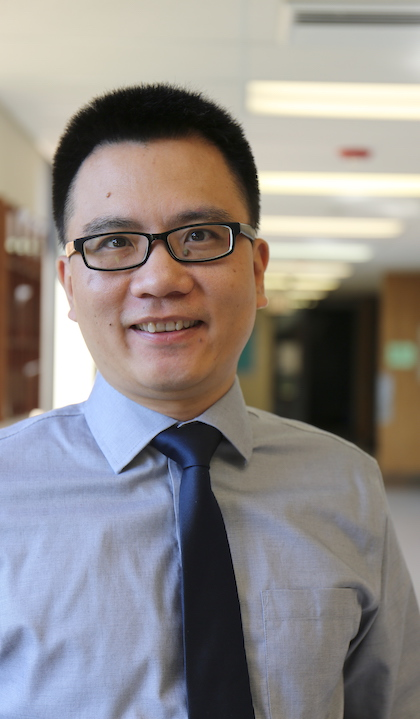 Jin Huang, Ph.D., professor of social work, at Saint Louis University