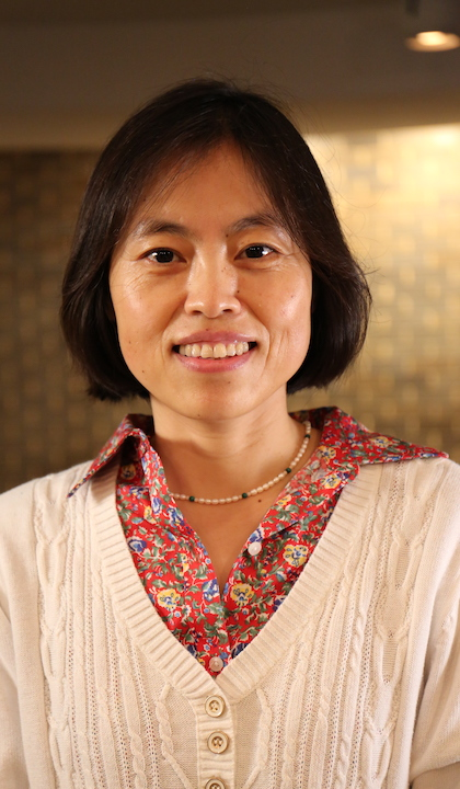 Jing Wang, professor of biostatistics, at Saint Louis University's College for Public Health and Social Justice