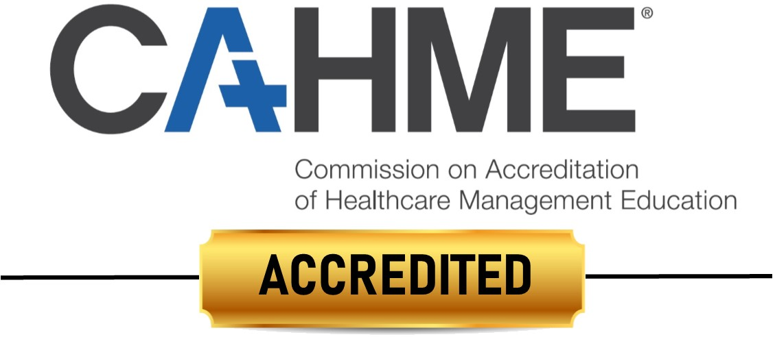 CAHME Accreditation Logo