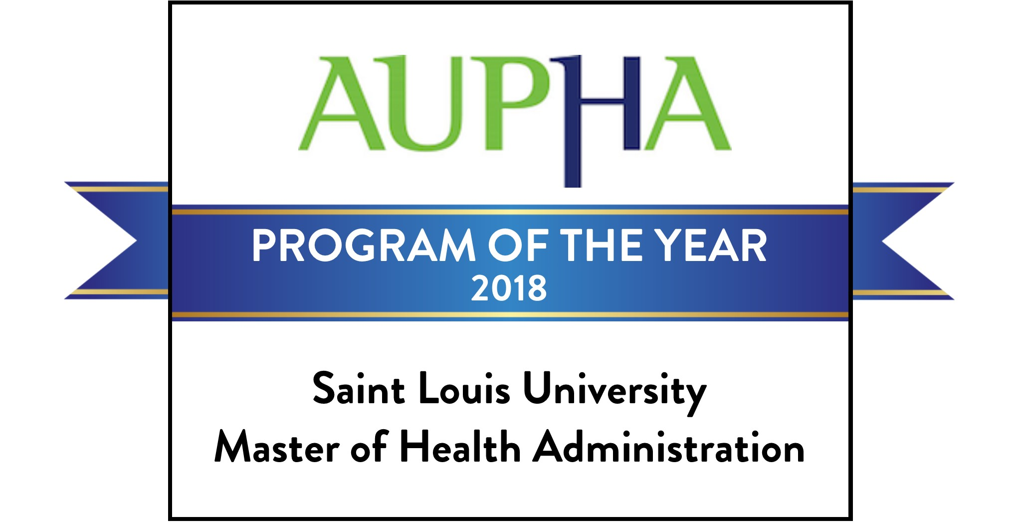 AUPHA Program of the Year