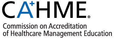 Logo of the Commission on Accreditation of Healthcare Management Education